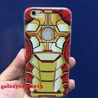 Trendy Ironman Mark 42 Armor Soft Rubber Full Case Cover For iPhone 6 6S Plus