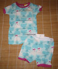Baby Gap Short Sleeve Pajama Bear Teal 12-18M 18-24M 2T 3T 4T 5T You choose Size