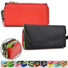 PU Leather Smart-Phone Fashion Wallet Case Cover & Clutch X6UB2