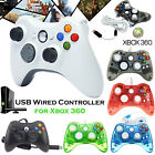 Wired Xbox 360 Controller USB Gamepad Joypad For Microsoft Xbox 360 PC Windows