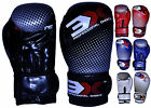 Sports Boxing Gloves Kids Pro Leather Martial Arts MMA Kick Boxing Thai Sparring
