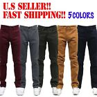 MEN Jeans Slim STRETCH FIT SLIM FIT Casual Pants SKINNY AKADEMIKS STYLE 5 COLORS
