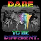 Dare To Be Different NEON     Tshirt    Sizes/Colors