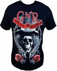 Guns N Roses Mens Shortsleeve Black T-Shirt New Band Tee SM-2X