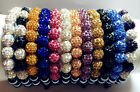 Premium New Crystal Jewelry Shamballa Czech bracelet 9 Beads