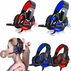 Sades Stereo 7.1 Surround Headset  Headband PC Laptop Pro Gaming Microphone B