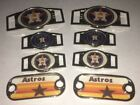 2 ~ Houston Astros MLB Paracord Charms Oval or Mini Dog Tag shoelace charms on Ebay