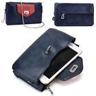 Womens Fashion Smart-Phone Wallet Case Cover & Crossbody Purse EI64-41