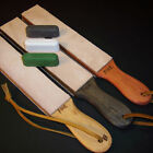 Leather Strop handcrafted in the USA by StropMan LARGE Pick Color & 2 Compounds