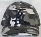 "New York Yankees ""FLEX FIT"" Cap ?MLB PATCH LOGO ?2 SIZES ?3 CAMO COLORS ?NEW"