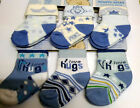 INFANT/BABY SOCKS  6 PAIR COTTON RICH BOYS SOCKS FROM SOFT TOUCH 3 SIZES