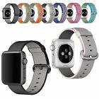 Braided Nylon Replacement Band Wrist Strap+Bracket for Apple i Watch 38mm/42mm