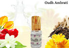 OUDH AMBRATI, Traditional Indian Attar Concentrat Perfume Oil Free of Alcohol