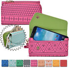 Convertible Aztec Smart-Phone Wallet Case Cover & Evening Clutch MLUC31