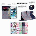 For iPhone 6 Plus 6s Plus PU Leather Card Holder Wallet Flip Stand Case Cover