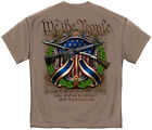 2nd Second Amendment T Shirt Mens Gun Rifle Constitution NRA Flag Tee S-2XL 3XL  image