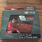 Dale Earnhardt Jr. NASCAR Collector Tin And Two Decks Of Playing Cars