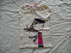NWT GYMBOREE CHARM CLASS GIRL BERET FLORAL SCARF TOP SHIRT FALL