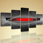 Large Framed Modern Abstract Painting Home Decor Wall Art Print On Canvas Red