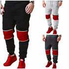 Best Sweatpants For Men - Skinny Tracksuit Bottoms Suffed Fleece Tapered Joggers