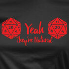 Women's dungeons and dragons shirt they're natural funny shirt
