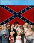 """Richard A. Williams MAD Magazine #537 """"20 Dumbest..."""" Feature Painting"""