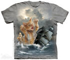 The Mountain KRAKITTEN T-SHIRT CAT KRAKEN BOAT NAUTICAL KITTY KITTEN Tee S-5XL