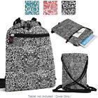 6 - 8 inch Tablet Paisley Protective Drawstring Backpack Case Cover BG10P2B2-5