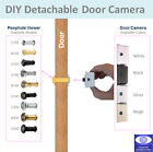 Easy DIY Wide Viewing Angle Peephole Viewer Detachable Door CCTV Camera NTSC PAL