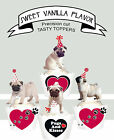 PUG Puppy Dog Party EDIBLE Vanilla wafer 15 Cupcake Toppers PRECUT cup cake