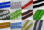 90 Crystal Cube Gemstone Loose Beads 6.5mm Jewelry DIY