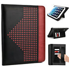 9 inch Patent Leather Protective Tablet Folding Case Cover & Stand MUEP-2