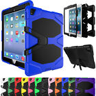 Heavy Duty Defender Hybrid Rugged Rubber Hard Case Stand Cover For iPad 2 3 4
