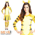 Tigger Ladies Fancy Dress Winnie The Pooh Cartoon Character Womens Book Costume