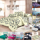Single Double Queen King Super King Size Bed Set Pillowcases Quilt Duvet Cover