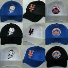 New York Mets Air Mesh Cap ~Hat ✨CLASSIC MLB PATCH/LOGO ✨3 Colors ✨5 Styles ✨NEW on Ebay