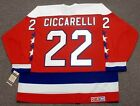 DINO CICCARELLI Washington Capitals 1990 CCM Vintage Away NHL Hockey Jersey