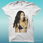 Camiseta Sexy Megan Fox Film Blanco The Happiness Es Han My Camiseta Nuevo