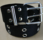 """NEW! Double grommet woven belt ONE SIZE fits up to 39"""" waist, 1.5"""" wide"""