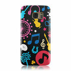 MUSICAL THEME MUSIC PATTERN HARD CASE COVER FOR SAMSUNG GALAXY MOBILE PHONES