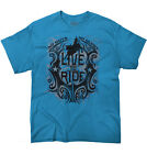 Live to Ride Rodeo USA Shirt | America Cowboy Western Country T Shirt image