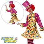 Clown Lady Costume- Adult Woman Outfit Funny Side