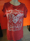 "Harley-Davidson Shirt  ""Freedom Machine Red Tee"" Rundhals rot"