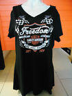 "Harley-Davidson Damen T-Shirt ""Thrill Lds"" V-Ausschnitt Frontprint Backprint"