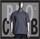 1 New Mens Pro Club Heavyweight Charcoal Gray Blank T Shirt M to 3XL PROCLUB