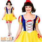 Snow White Ladies Fairy Tale Fancy Dress Womens Princess Adults Book Costume New