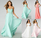 charming Chiffon appliques Wedding Bridesmaid Dresses Formal Dress size 6-26