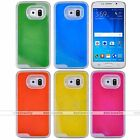 Glow in the Dark Liquid Fluorescent Quicksand Cover Case For Samsung Galaxy S5 6
