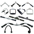 Gym Attachments Rope/Stirrup Handle/Chinning Bar/Triceps/Revolving Bar/Hooks
