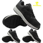 MENS NEW ULTRA LIGHTWEIGHT STEEL TOE CAP SAFETY WORK LACE-UP TRAINERS SHOES BOOT